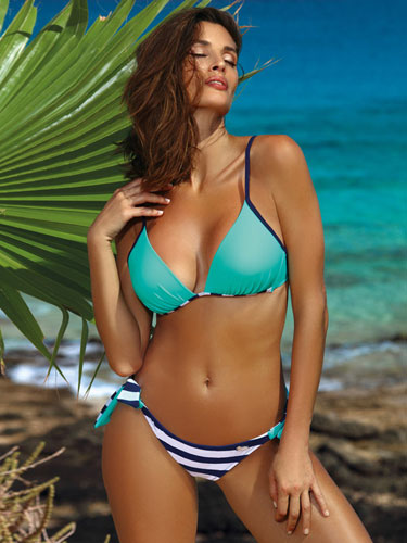 Costum de baie Nelly Blue