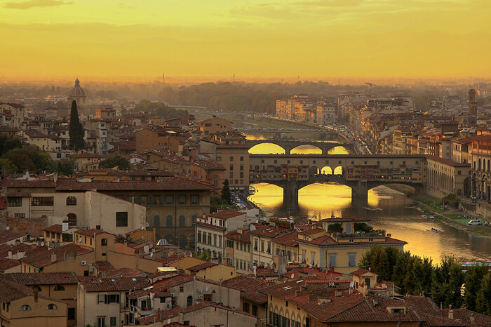 Ponte Vecchio, Florenta, Toscana