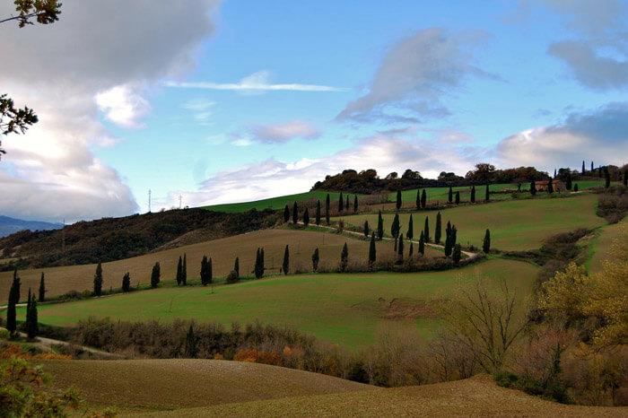 Valea Orcia, Toscana